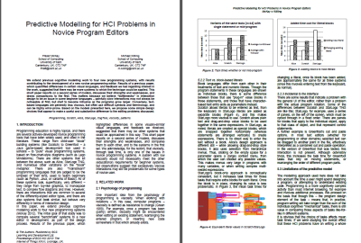 HCI 2013 publication – cognitive models